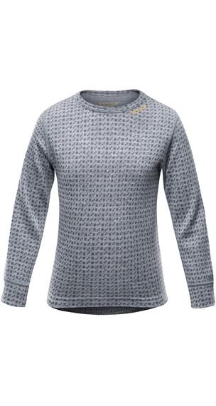 Devold Kids Islender Shirt Greymelange